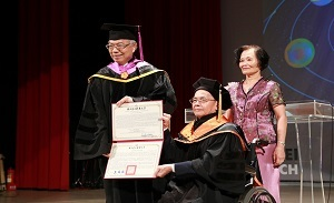 Honorary Degree Ceremony for Prof. Ruey-Tsair Wang《2018.06.11》