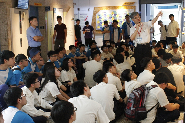 The Affiliated Tao-Yuan Agricultural & Industrial Senior High School teachers and students Come to Visit