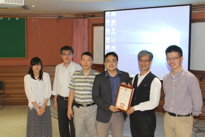 National Chia-Yi Industrial Vocational High School teachers and students Come to Visit
